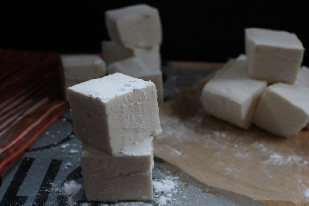 Halloween Treat Honey Marshmallows