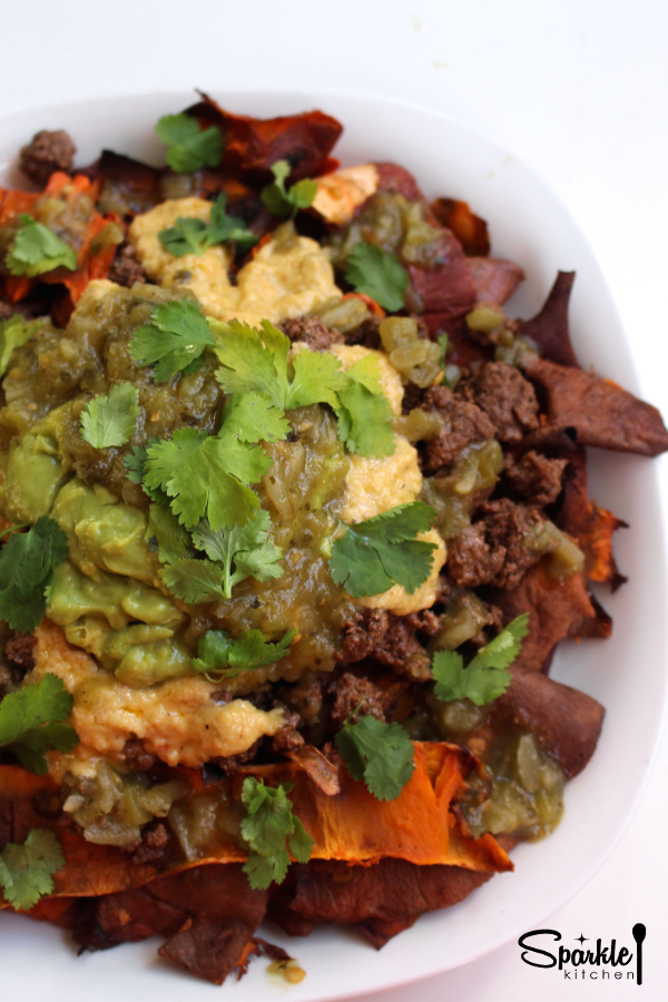 Sweet Potato Chip Nachos