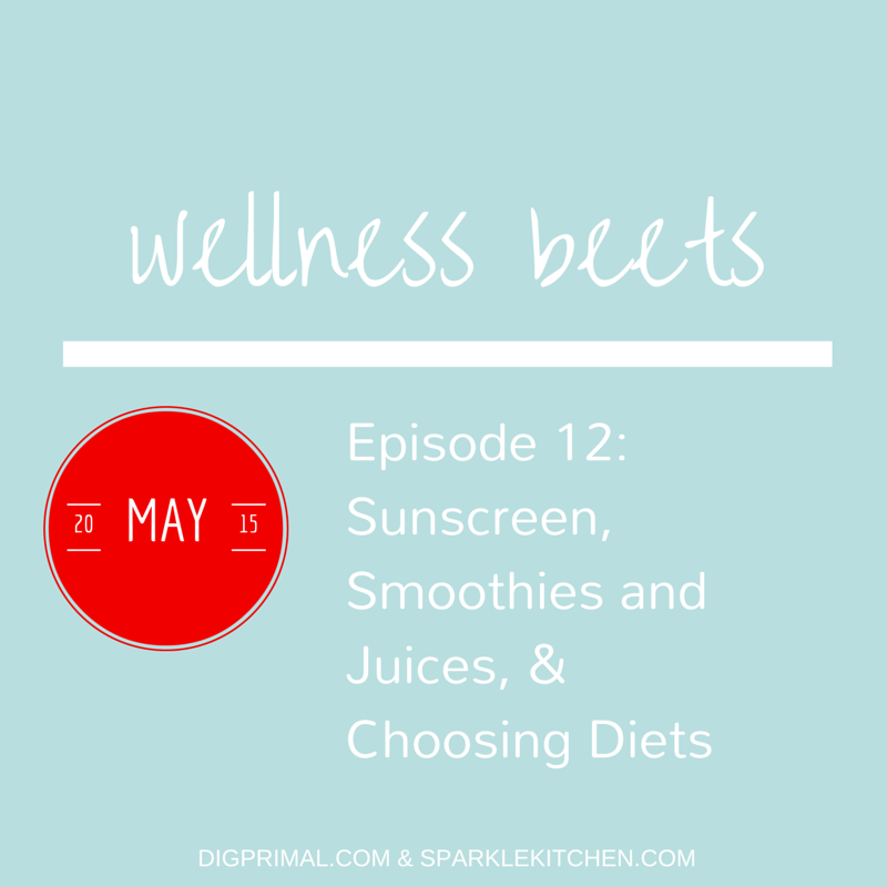 Wellness Beets Episode #12: Sunscreen, Smoothies & Juices, and Choosing Diets