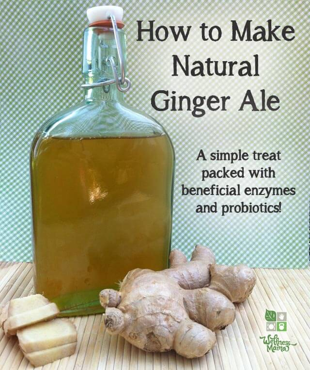 DIY natural ginger ale