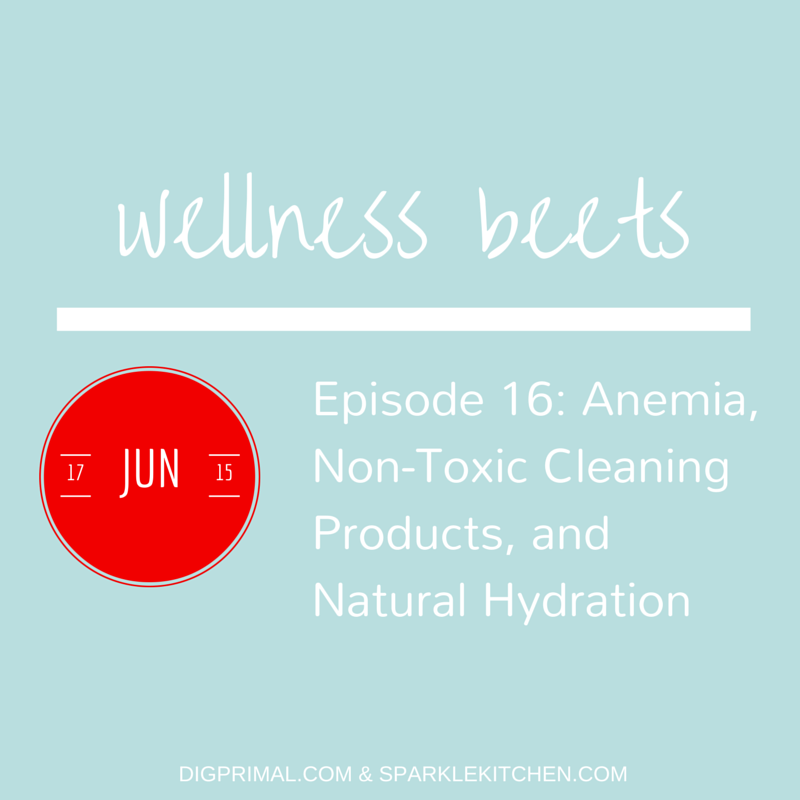 Wellness Beets Episode #16: Anemia, Non-Toxic Cleaning Products, and Natural Hydration