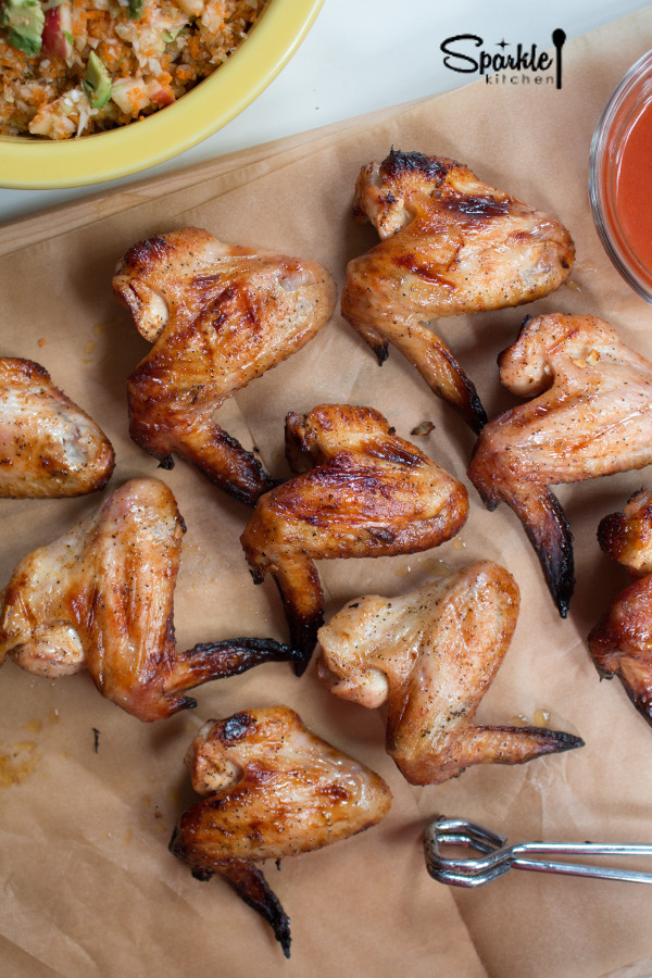 Honey Lime Hot WIngs