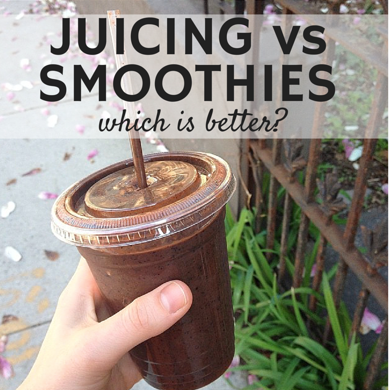 Juicing vs Smoothies: Which is Better?
