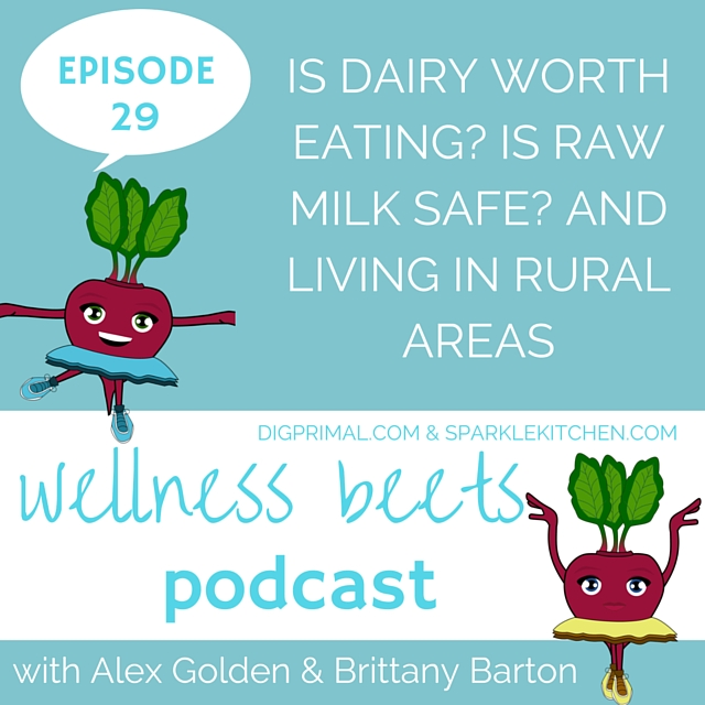 Wellness Beets Episode #29: Is Dairy Worth Eating? Is Raw Milk Safe? And Living in Rural Areas
