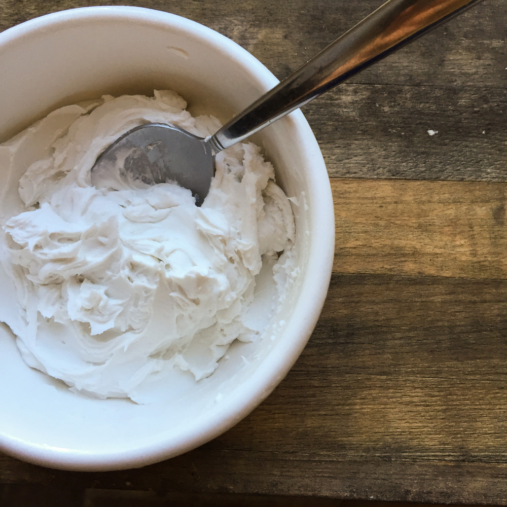 2 Ingredient Dairy-Free Coconut Yogurt