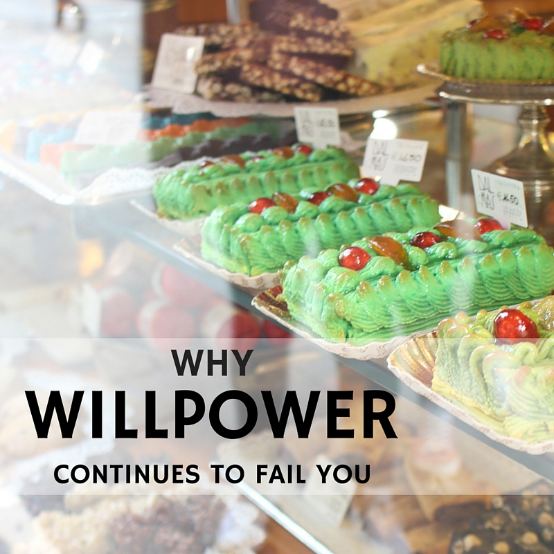 Why Willpower Continues to Fail You
