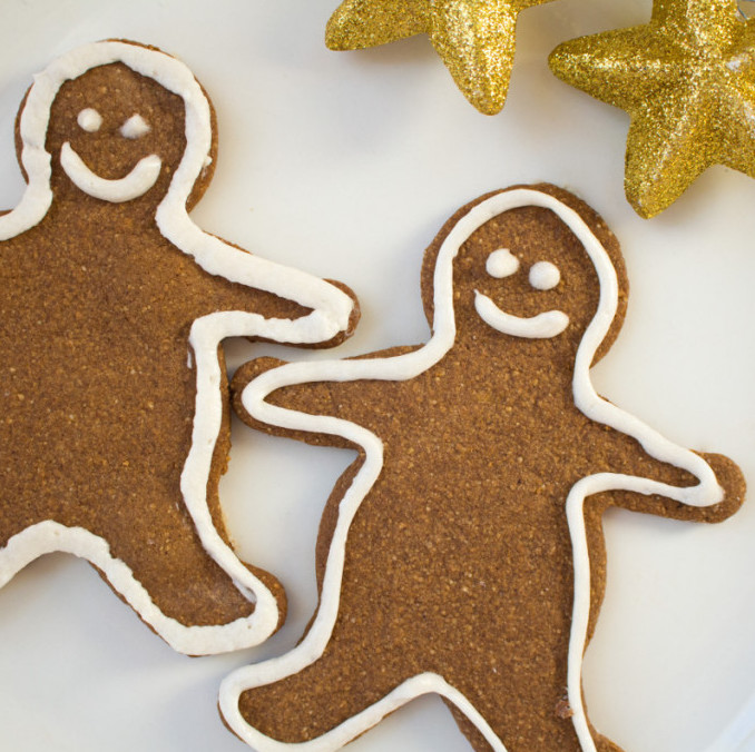 Gluten-Free Gingerbread Cookie Cutouts