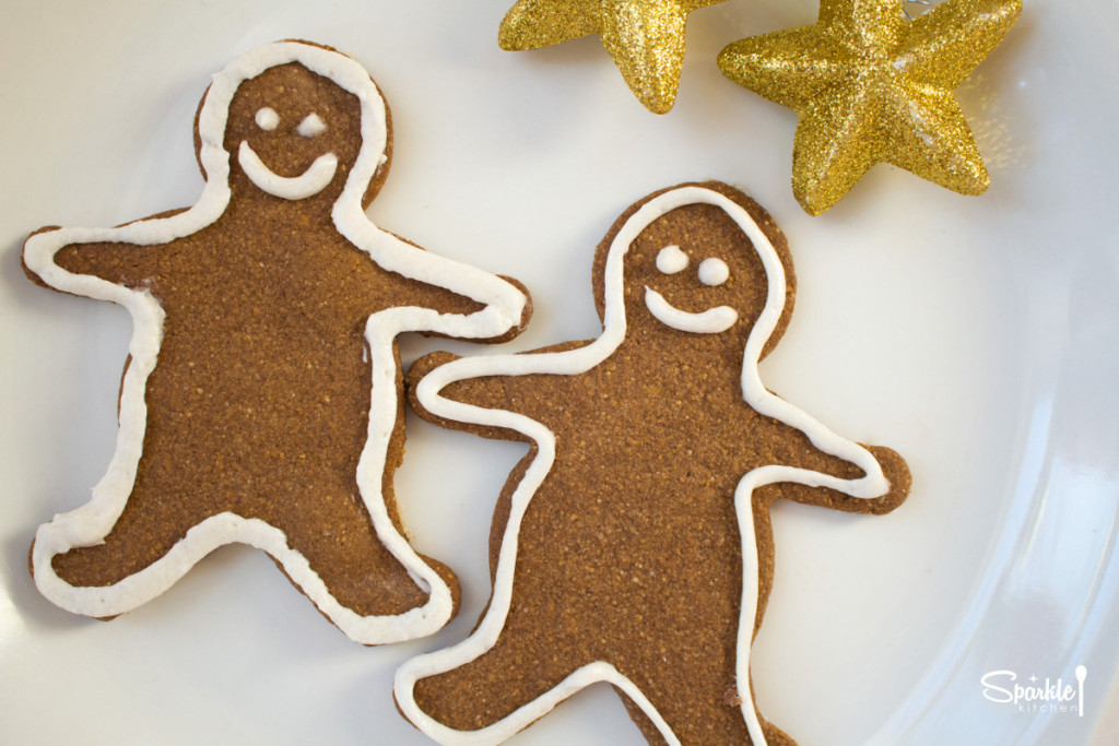 Paleo Gingerbread Cookie Cutouts