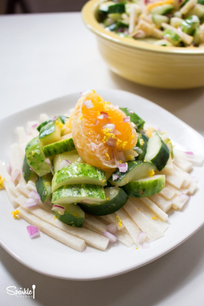 Cucumber Orange Salad