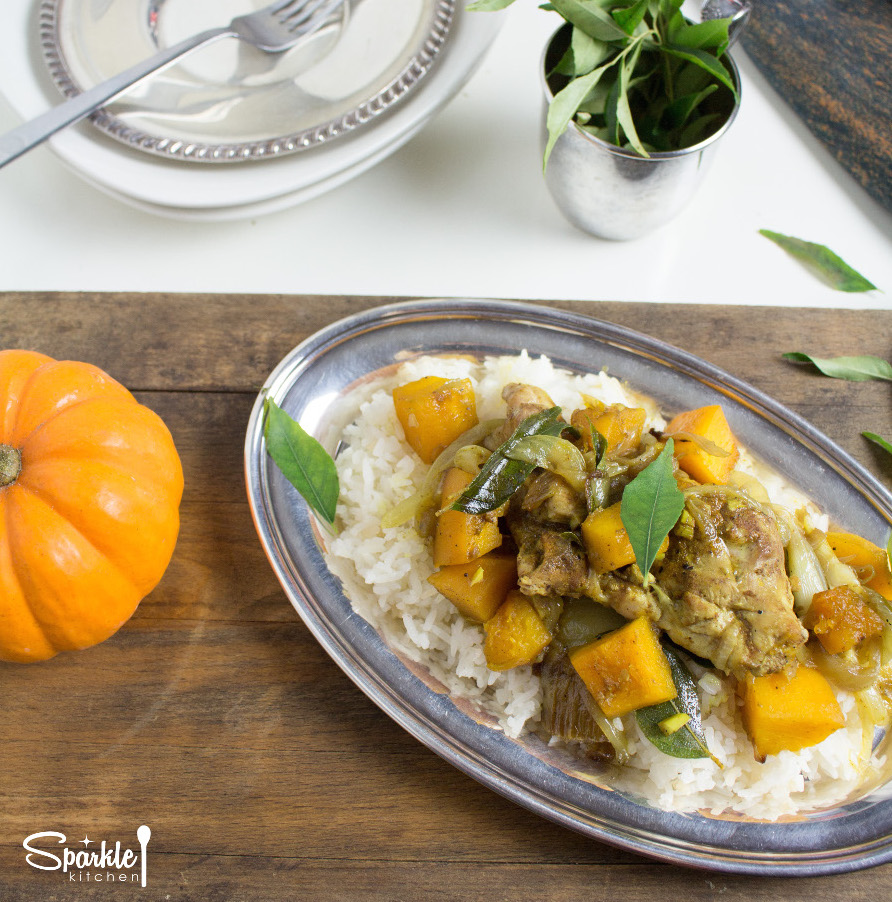 One-Pot Chicken-Pumpkin Curry